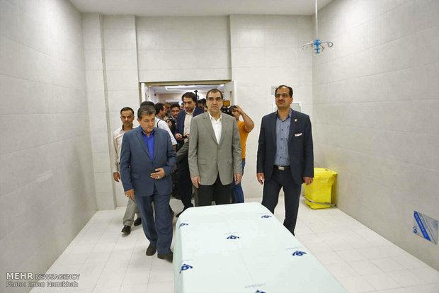 سفر سیدحسن قاضی زاده هاشمی وزیر بهداشت، درمان و آموزش پزشکی به همدان