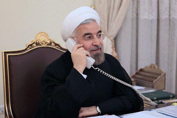 الرئيس الايراني يؤكد على وحدة اراضي بلدان المنطقة وعدم تغيير الحدود