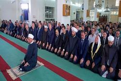 Beşar Esad Kurban Bayramı Namazı'na katıldı