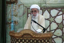 نماز عید قربان در جمکران به امامت آیت الله جنتی