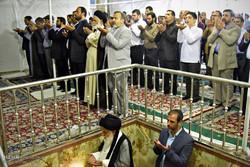 اقامة صلاة عيد الاضحى المبارك في الحرم الرضوي