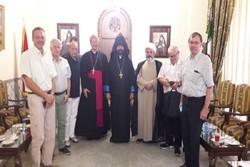 دیدار هیأت کنفرانس اسقفان سوئیس با خلیفه ارامنه اصفهان