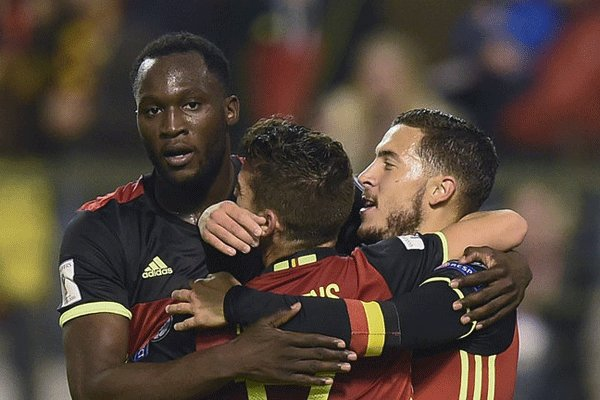 پیروزی خفیف تیم ملی بلژیک مقابل ژاپن