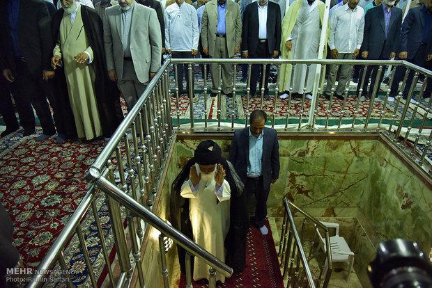 اقامة صلاة العيد في الحرم الرضوي