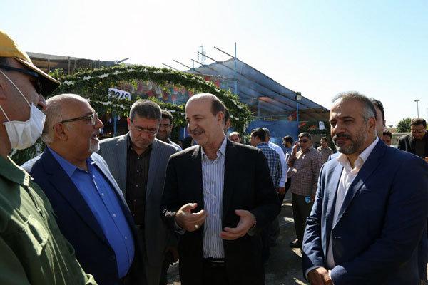 بازدید دو عضو شورای شهر تهران از کافه نادری