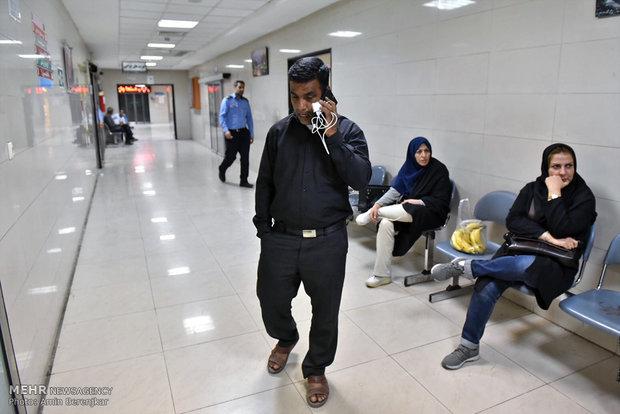 روند خدمات رسانی به دانش آموزان حادثه واژگونی اتوبوس