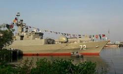 پنجاه و هفتمین ناوگروه نیروی دریایی ارتش در بندرجاسک پهلو گرفت