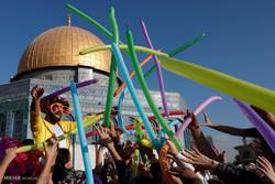 مشاهد من إحتفالات عيد الأضحي المبارك في مختلف أنحاء العالم