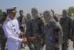 دریادار سیاری از تیپ عملیات ویژه مسلمبنعقیل(ع) بازدید کرد