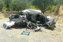 کشته شدن یک نفر بر اثر تصادف در محور دولت آباد