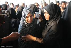 تشييع جثامين تلميذات لقين مصرعهن بحادث سير جنوب ايران