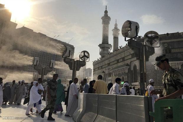 Hacıların Mekke-i Mükerreme ziyaretinden kareler