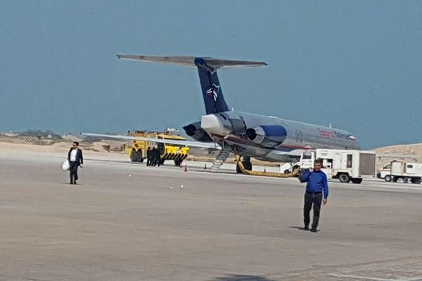 نقص فنی در پرواز بوشهر به تهران/ هواپیما سالم نشست