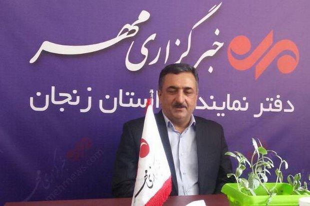 علی محمدی مدیر درمان تامین اجتماعی استان زنجان - کراپشده