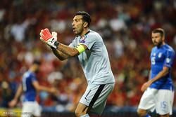 دیدار تیم های فوتبال ملی اسپانیا و ایتالیا