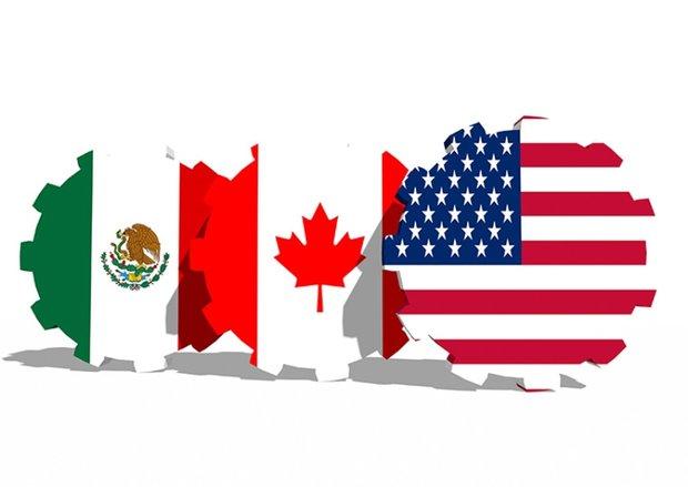مکزیک, کانادا, ایالات متحده آمریکا, تعرفه واردات گمرک, فولاد, چین