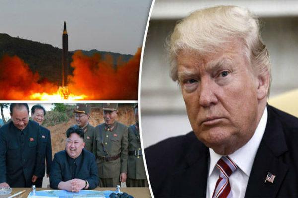 ترامپ قصدرفع تحریمها را قبل ازنابودی برنامه اتمی کره شمالی ندارد