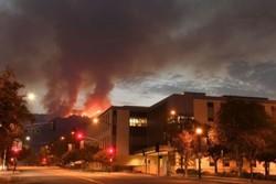 آتش سوزی در لس آنجلس