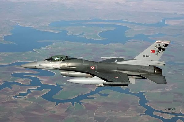 جنگنده ترکیه