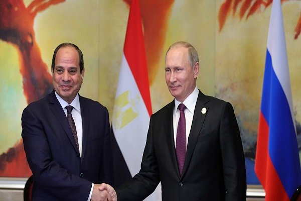 السيسي: اتفقنا مع الرئيس بوتين على ضرورة التسوية السلمية في سوريا وليبيا