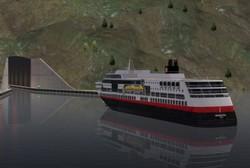 نروژ برای کشتی ها تونل می سازد