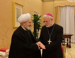 Vatican foreign minister to visit Tehran