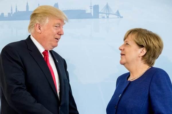 مرکل و ترامپ دیدار کردند/ موضوع ایران در دستور نشست