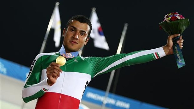 Iranian cyclist lands 2nd in UCI rankings