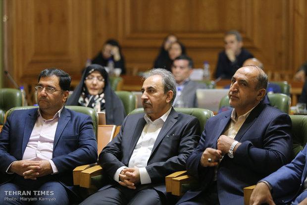 Tehran's mayor sworn in