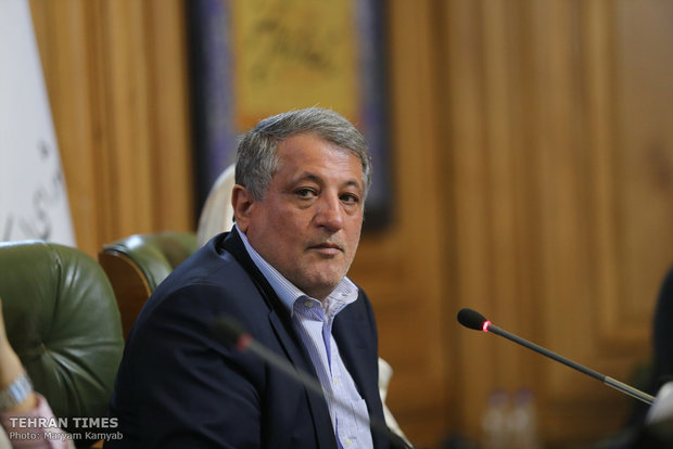 Tehran's mayor sworn in