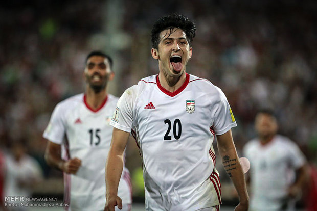 Iran Syria qualification match for the 2018 FIFA World Cup