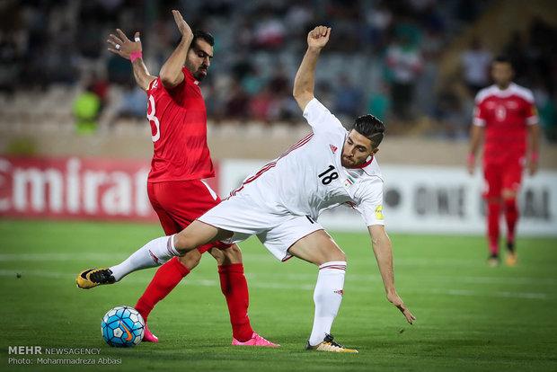 İran-Suriye futbol maçından kareler