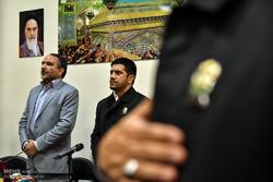 مراسم اهدا مدالهای علیرضا دبیر به موزه آستان قدس رضوی