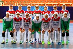 منتخب ايران النسوي بكرة الصالات يشارك في بطولة كأس أمم  آسيا