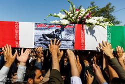 مراسم تشییع پیکر مطهر فهمیده آذربایجان در تبریز / شهید حسن جنگجو