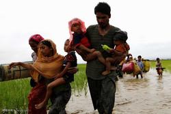 Rohingya Müslümanlarının soykırımdan kaçışı