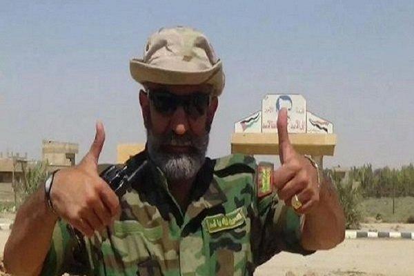 Suriyeli komutanın zafer coşkusu