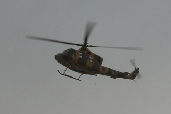Iran's army helicopter crashes in Urmia