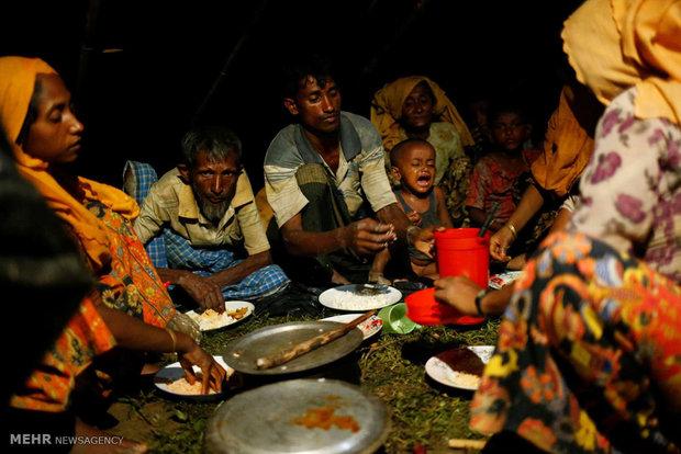 فرار مسلمانان روهینگیا از نسل کشی