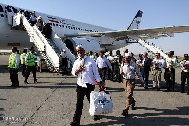 Hajj pilgrims return Iran