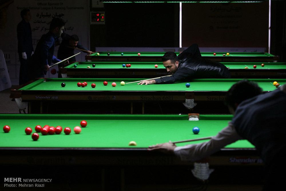 Can not Amateur snooker tournaments
