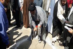 کلنگ زنی مسجد ورامین