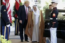 دیدار ترامپ و امیر کویت