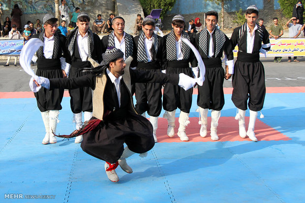 6th Intl. Festival of Traditional Games in Marivan