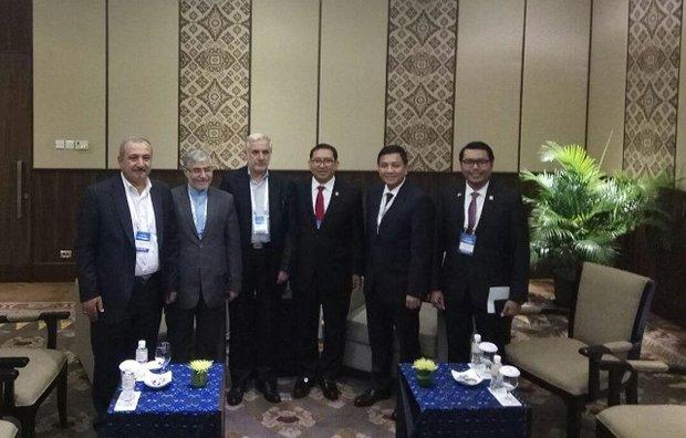 iran indonesia delegations