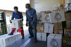 توزیع بخش دیگری از کمک های ارسالی هلال احمر به آوارگان روهینجایی