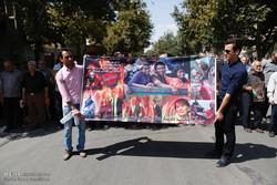راهپیمایی مردم همدان در محکومیت جنایات علیه مسلمانان میانمار