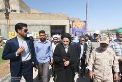 بیرجند میں حجۃ الاسلام عبادی کی امامت میں پہلی نماز جمعہ