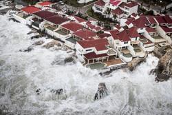 خسارات طوفان ایرما