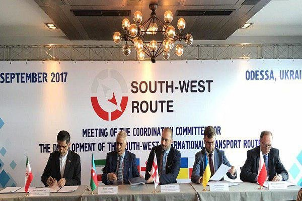 South-West Trade Rail Corridor established by consent of five parties